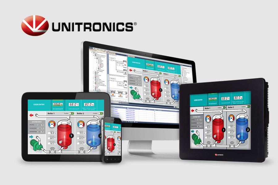 Unitronics PLC HMI VFD